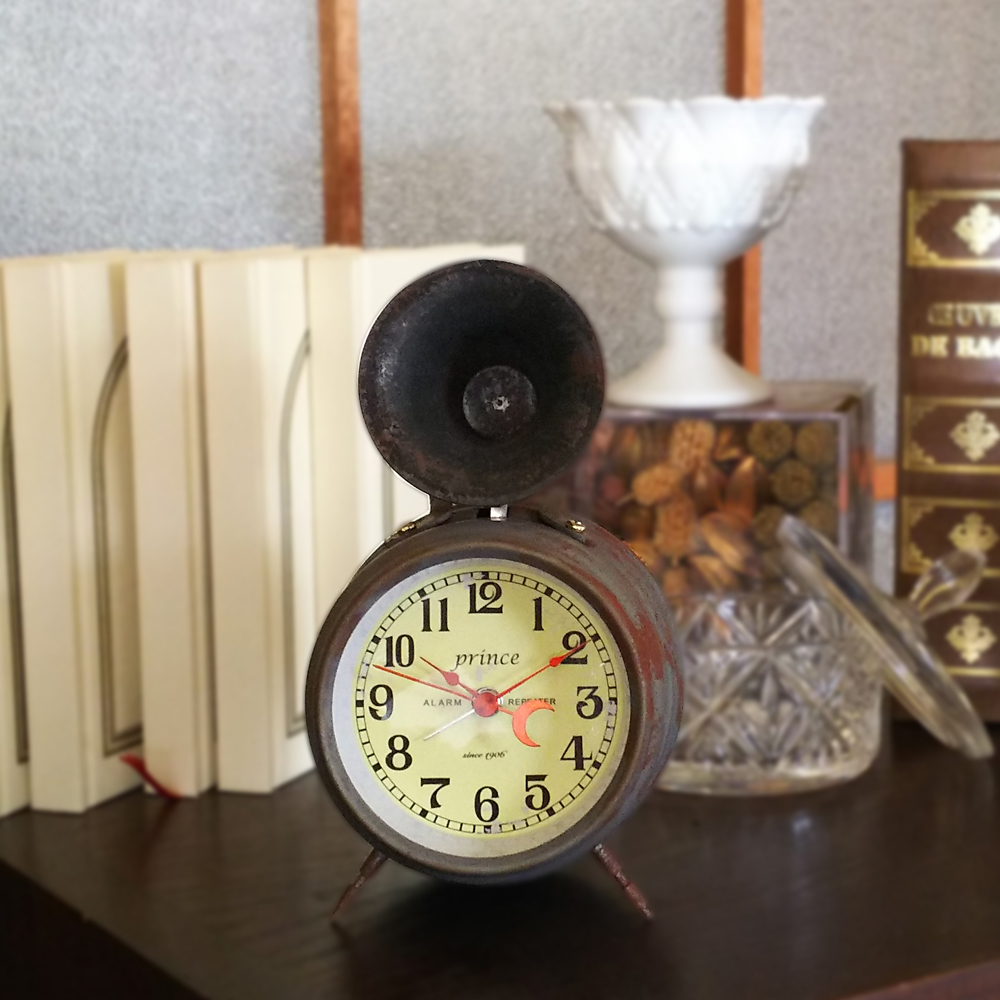 Bugle Clock( Aging)_04