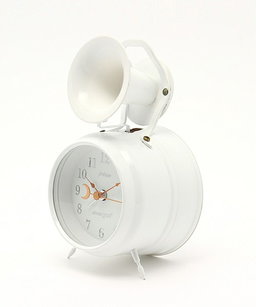 Bugle Clock (First)White_02