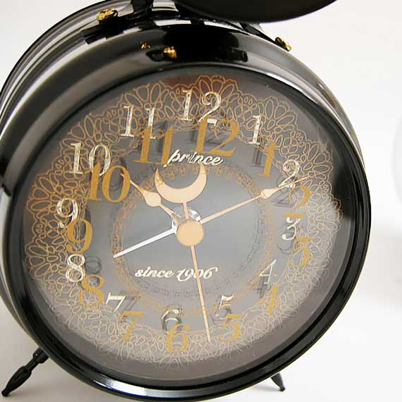 Bugle Clock (lace) Black_02