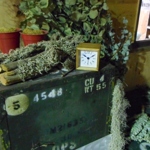 Kanbatsu 4 kaku alam clock Hinoki_10